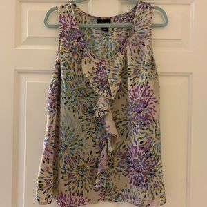 NWOT LANE BRYANT blouse-sleeveless-pastel colors
